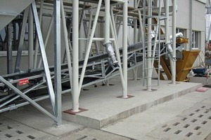 A special plant was installed for customized precast elements
