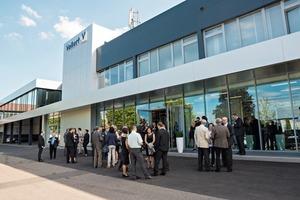 """<div class=""""bildtext"""">Ende Juni feierte der Weinsberger Anlagenbauer mit zahlreichen Kunden, Partnern und Mitarbeitern aus aller Welt sein 90-jähriges Bestehen</div>"""