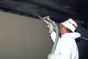 "<div class=""bildunterschrift_en"">Efficient application of the SPCC mortar applied by spray gun</div>"