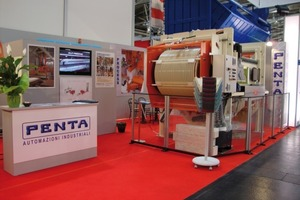 "<span class=""bildunterschrift_hervorgehoben"">Fig. 6 </span>The booth of Penta at bauma 2010.<br />"