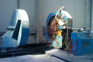 Fig. 13 MBK cage welder.