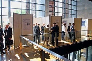 Interesting research projects are also presented at the poster session