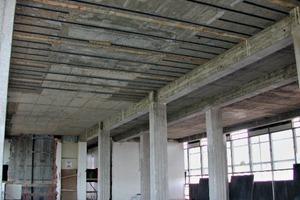 """<div class=""""bildtext"""">Auch Teile des Tragwerks im Burda-Hochhaus Offenbach wurden mittels dieser Methode verstärkt</div>"""