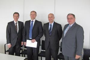 """<span class=""""bildunterschrift_hervorgehoben"""">Fig. 1</span> Board of directors and management of Sauter Plersch AG."""