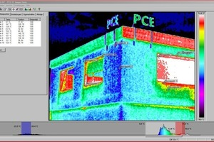 """<span class=""""bildunterschrift_hervorgehoben"""">Fig. 11</span> Thermal images must be analyzed using special software and assessed and interpreted by experts in the field."""