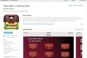 """<div class=""""bildtext_en"""">Preview of the new AB Courtyard Walls Estimating App</div>"""