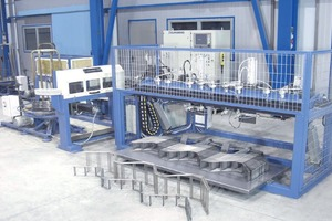 """<div class=""""bildtext_en"""">The PLT B Ladder Series of welding lines ensure simple machine layout and reliable and cost-effective production of ladder-type strip spacers from coils</div>"""