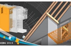 3D BIM planning with Strakon 2015