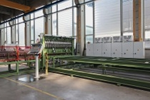 "<div class=""bildtext_en"">MSM-B: Mesh welding machine for the production of reinforcement wire mesh for flat elements, box culverts, L- and U-shaped precast concrete ­elements as well as boxes and rectangular pipes </div>"