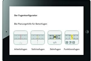 """<div class=""""bildtext"""">Der Fugenkonfigurator ist eine Online-Planungshilfe mit Lösungen für die Konstruktion von Arbeits- und Bauteilfugen in Beton</div>"""