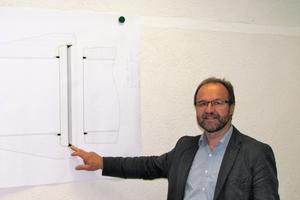 """<div class=""""bildtext"""">Die Verbindung ist der Kern der Entwicklung, wie Herr Martin Franz, Technischer Leiter der Finger Gruppe, erläutert </div>"""