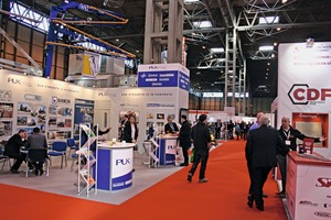 """<div class=""""bildtext_en"""">Nearly 200 exhibitors were pleased about the interest shown by the several thousand trade vsitors on the two trade show days</div>"""