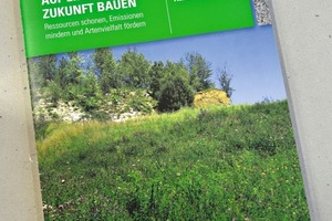 Cover of the new environmental brochure of ­Heidelberg Cement