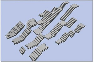 The presentation shows a number of stair variants that can be generated parametrically.<br />