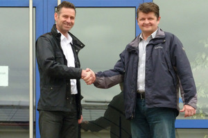 "<div class=""bildunterschrift_en"">Markus Kloiber (Sales Manager Bibko, left)  wishes Bob Taylor (Managing Director Future Concrete Solutions) much success for the sales of Bibko residual concrete recycling systems in the UK and Ireland</div>"