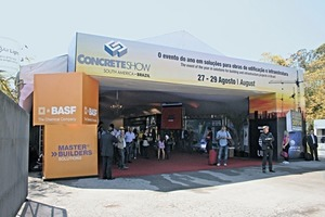 "<div class=""bildtext_en"">Helped by fine weather, the organizers of the Concrete Show were pleased about the numerous visitors</div>"