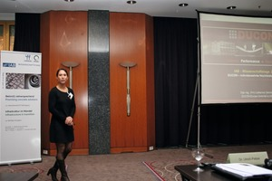 "<div class=""bildtext_en"">... the attendees were offered many interesting speeches, as here of Dipl.‑Ing. (FH) Catherine Olemotz, Ducon Europe GmbH &amp; Co. KG, on ­micro-reinforced high-performance concrete</div>"