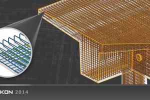 """<div class=""""bildunterschrift_en"""">3D reinforcement in bridge construction using Strakon</div>"""