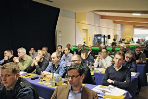 """<div class=""""bildtext_en"""">The conference room of the SLG plant manager conference 2016, Lava Cellar and Masa mixer at the Masa facility in Andernach</div>"""