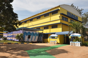 Colorful: The building of the  subsidiary of Masa in India
