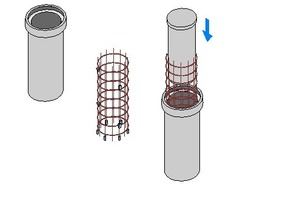 "<div class=""bildunterschrift_en"">Apart from elevated reinforcement and spacers with longitudinal and transverse clamps, Max Frank offers sealing cones for tunnel segments</div>"