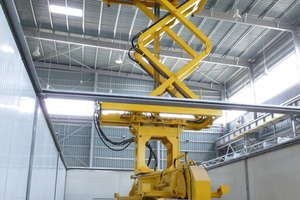 """<div class=""""bildtext_en"""">A Transexakt automatic crane system moves the finished concrete pressure pipes into and out of kilns</div>"""
