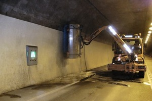 Cleaning of the Hornbergtunnel