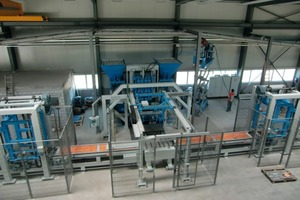 Fig. 1 The new manufacturing line in the factory of  Baumat AG.