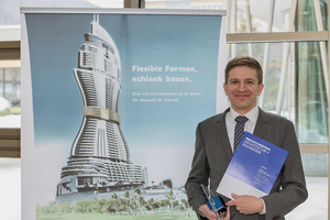 """<div class=""""bildtext_en"""">Dr. Christian Kulas, Technical Consultant at Solidian GmbH, with the Innovation Prize</div>"""