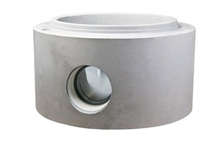 "<span class=""bildunterschrift_hervorgehoben"">Fig. 1 </span>A new technique for the production of monolithic manhole bases.<br />"