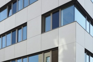 betoShell®BIG elements from Hering Bau with integrated SITgrid® fromV. Fraas are used as cladding for the Institute Building of TU Dresden<br />