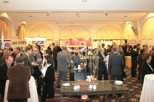The exhibition spaces provided ample opportunity for discussions among experts