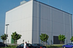 """<div class=""""bildtext_en"""">Construction of the interception-proof data processing center with integrated lightning protection</div>"""