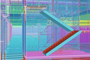 Accurate, rich Tekla model information makes it possible to use the model in production and construction