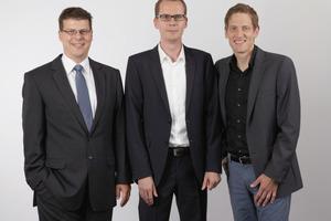 "<div class=""bildunterschrift_en"">(from left to right) Dr.-Ing. Martin Siffling, Dipl.-Ing. (FH) Stefan Maly MSc and Dr.-Ing. Holger Heidkamp</div>"