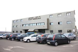 "<div class=""bildunterschrift_en"">The administration building of Euromecc in Misterbianco near Catania on the Italian Mediterranean island of Sicily </div>"