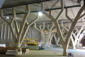 CTVS Sarl stellte die Schalungen für die Betonfertigteile für Château Talbot bei Bordeaux in Frankreich her ...