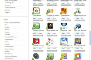 """<div class=""""FB BU Zahl"""">4</div>So-called app stores are the starting point to conveniently download the small apps that often come free of charge and can be used immediately after download"""