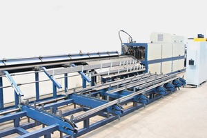 MELC Flexiline: flexible, multi line, rotor straightening and cutting ­machine up to 25 mm