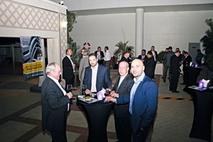 """<div class=""""bildtext_en"""">On the evening of the third day of the exhibition, many exhibitors accepted the invitation of BFT International and came together for an informal after-work exchange of experience in the Novotel's outdoor area</div>"""