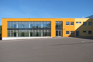 The new laboratory building meets the passive house standard