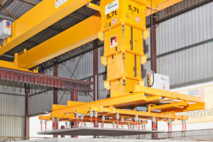 Following modernization, Lindermayr was able to increase its output of precast concrete elements by up to 20 %