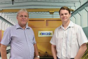 Klaus (right) and Helmut Holzberger manage WCH Weiler C. Holzberger IndustrialLtda.