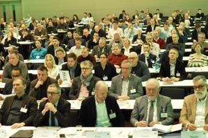 Rund 300 Teilnehmer hörten beim diesjährigen Fachsymposium die sieben Vorträge zur Betoninstandhaltung (Figure: Rita Jacobs)