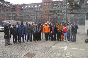 Berlin-Exkursion während des Abschlusstreffens der Teilnehmer