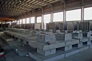The tilting table production line is also used for the manufacture of various structural precast concrete elements