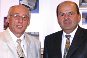 "<div class=""bildtext_en"">The managerial duo of MC in ­Hun­gary: László Hégely, managing ­director and commercial manager in ­Budapest (left), and Béla Rapp, managing director and production manager of the plant in Kövesgyür (right)</div>"