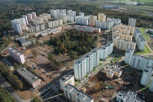 The increasing urbanization requires fast construction of large residential complexes