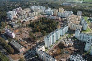 """<div class=""""bildtext"""">Die zunehmende Urbanisierung erfordert das schnelle Bauen von großen Wohnkomplexen</div>"""