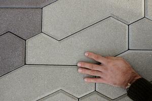 Cast stone Footprint